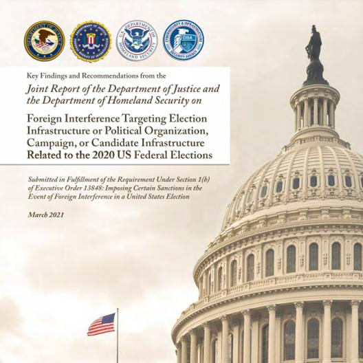 Joint report on foreign election interference released