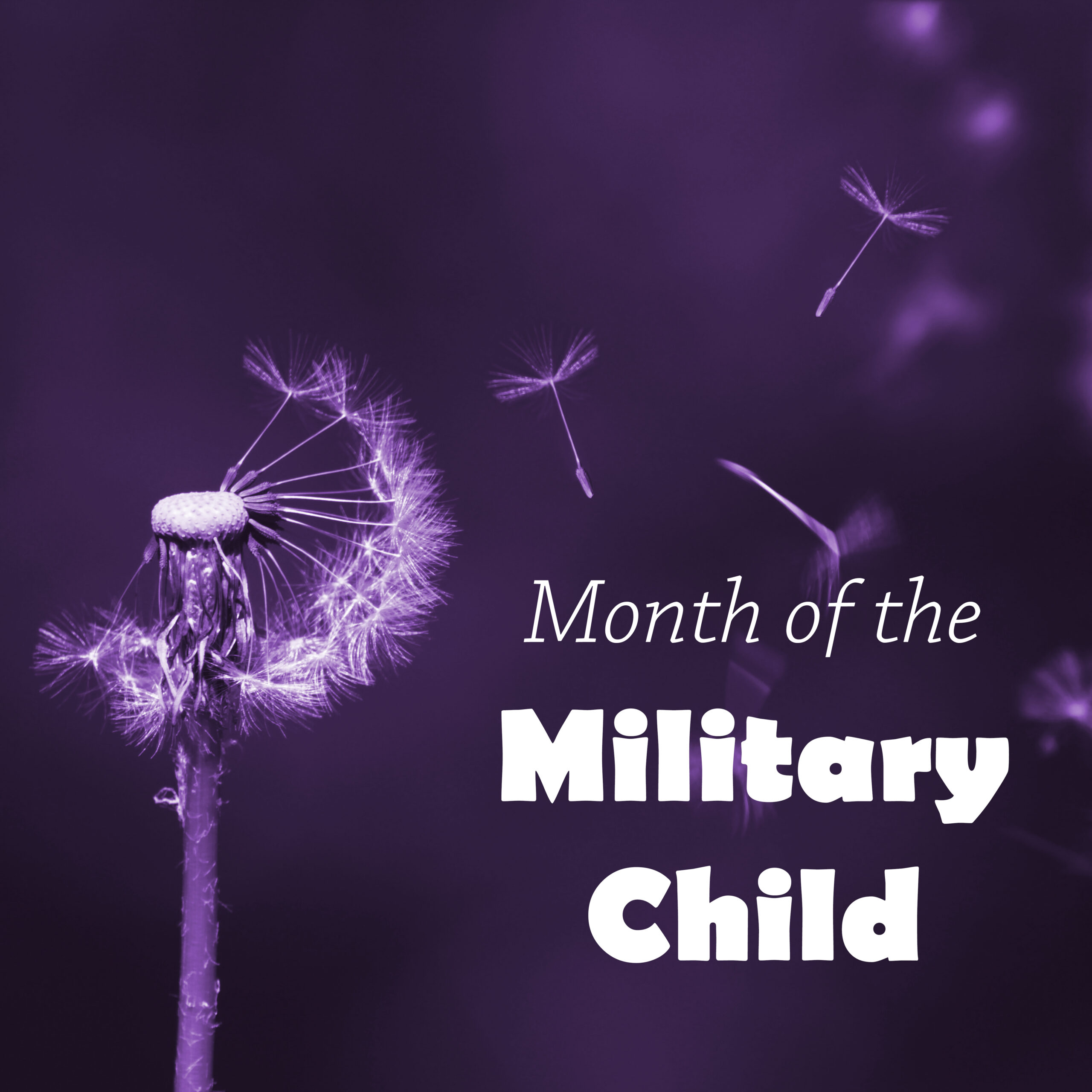 Foundation celebrates Month of the Military Child