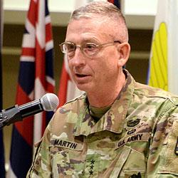 Lt. Gen. Martin assumes command of CAC