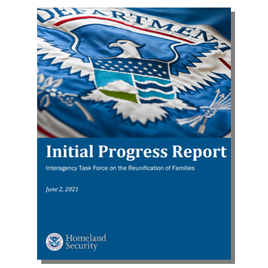 Task Force to reunify families releases progress report